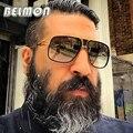 BELMON Модные Солнцезащитные Очки Мужчины Женщины Luxury Brand Дизайнер Негабаритных Солнцезащитные Очки Для Мужчин Дамы Óculos UV400 Фотохромные RS162