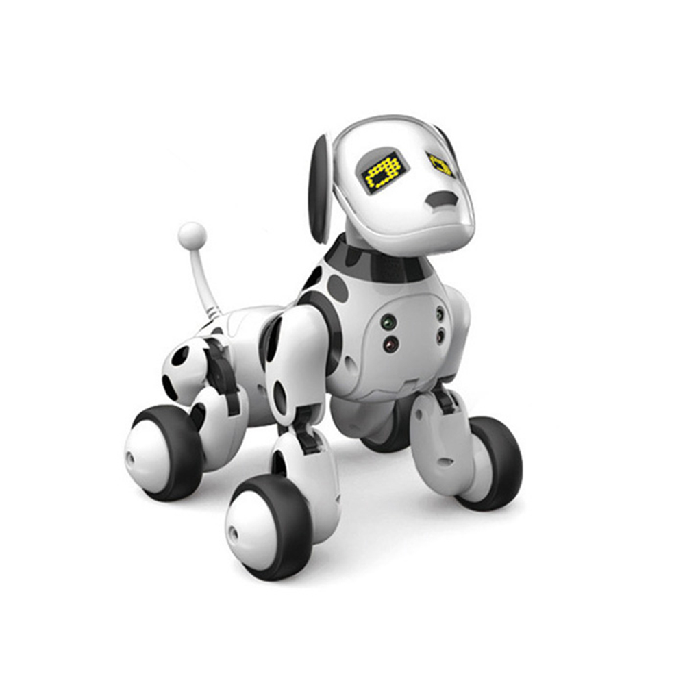 New DIMEI 9007A Intelligent RC Robot Dog Toy Remote Control Smart Dog Kids Toys Cute Animal RC Robot Gifts For Children Birthday цена 2017