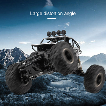 4WD Electric RC Car Rock Crawler Remote Control Toy Cars The Radio Controlled 4x4 Drive RC Car Toys For Boys Kids Suprise Gift 1