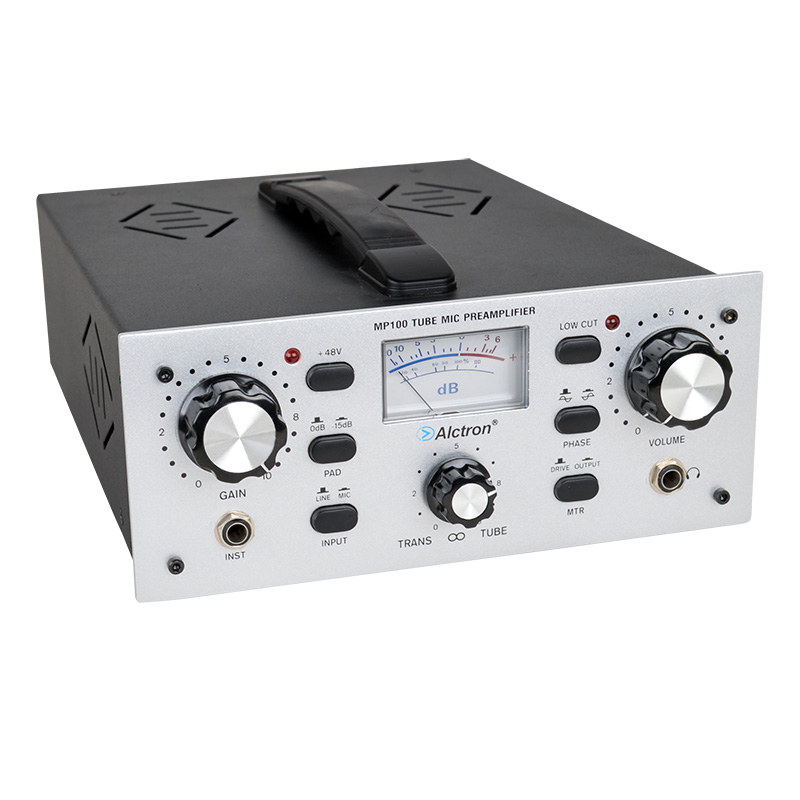 Alctron MP100 Single-channel high-end electronic tube mic preamplifier preamp microphone amplifier  цены