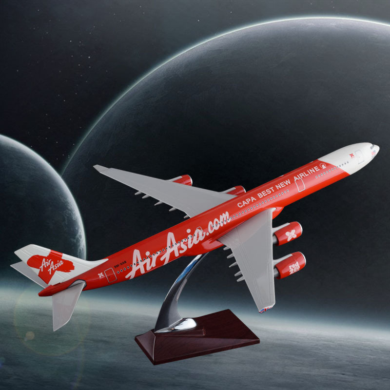 47cm 수지 A340 비행기 모형 항공 아시아 항공 모형 - 장난감 차량