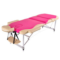 Factory Direct Sale Three Section High Quality Multi Function Massage Bed Beauty Bed Tatoo Bed Massage