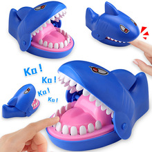 15cm 2019 Hot Sale New Creative Small Size Crocodile Mouth Dentist Bite Finger Game Funny Gags Toy For Kids Play Fun dinosaur
