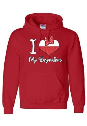 I Love My Boyfriend couple Sweatshirt I Love My GirlFriend couple ...