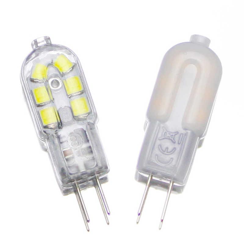 KARWEN 10 pcs/lot Lampada LED G4 Lampu Jelas/Milky Penutup AC 220 V DC 12 V 2 W SMD2835 LED Bulb G4 mini Ultra Terang Lampu Chandelier