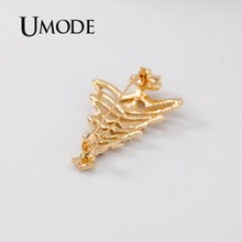UMODE Christmas Trees Brooches  AAA+ Cubic Zirconia Pins for Women Girls Gifts Fashionable New Clothes Accessories UX0053