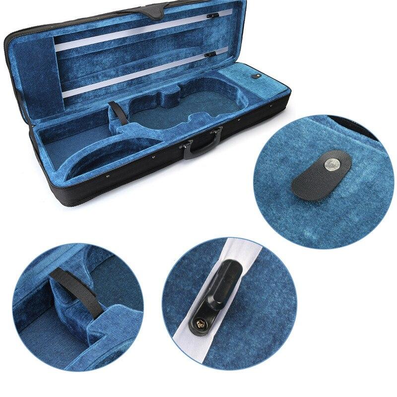 Zèbre 4/4 housse de violon acoustique housse de violon pour violon Instruments à cordes pièces accessoires
