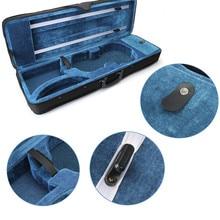 Zebra 4/4 Acoustic Violin Case Fiddle Box Cover For Violin Stringed Instruments Parts Accessories
