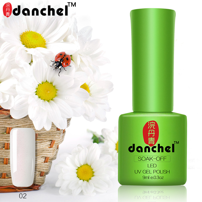 Danchel Beauty Nail Art Nail Gel LED UV Soak off Gel Lacquer Larga duración 9ML Gel Esmalte de uñas Color profesional Barnices de uñas