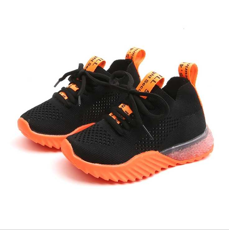 Boy mesh breathable sneakers 2019 summer fashion girls knit shoes boys big kids net shoes casual shoes
