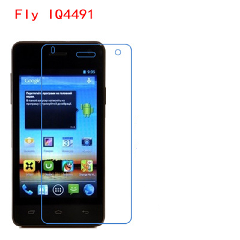 5 Pcs Ultra Thin Clear HD LCD Screen Guard Protector Film With Cleaning Cloth Film For Fly IQ4491 ERA Life 3.