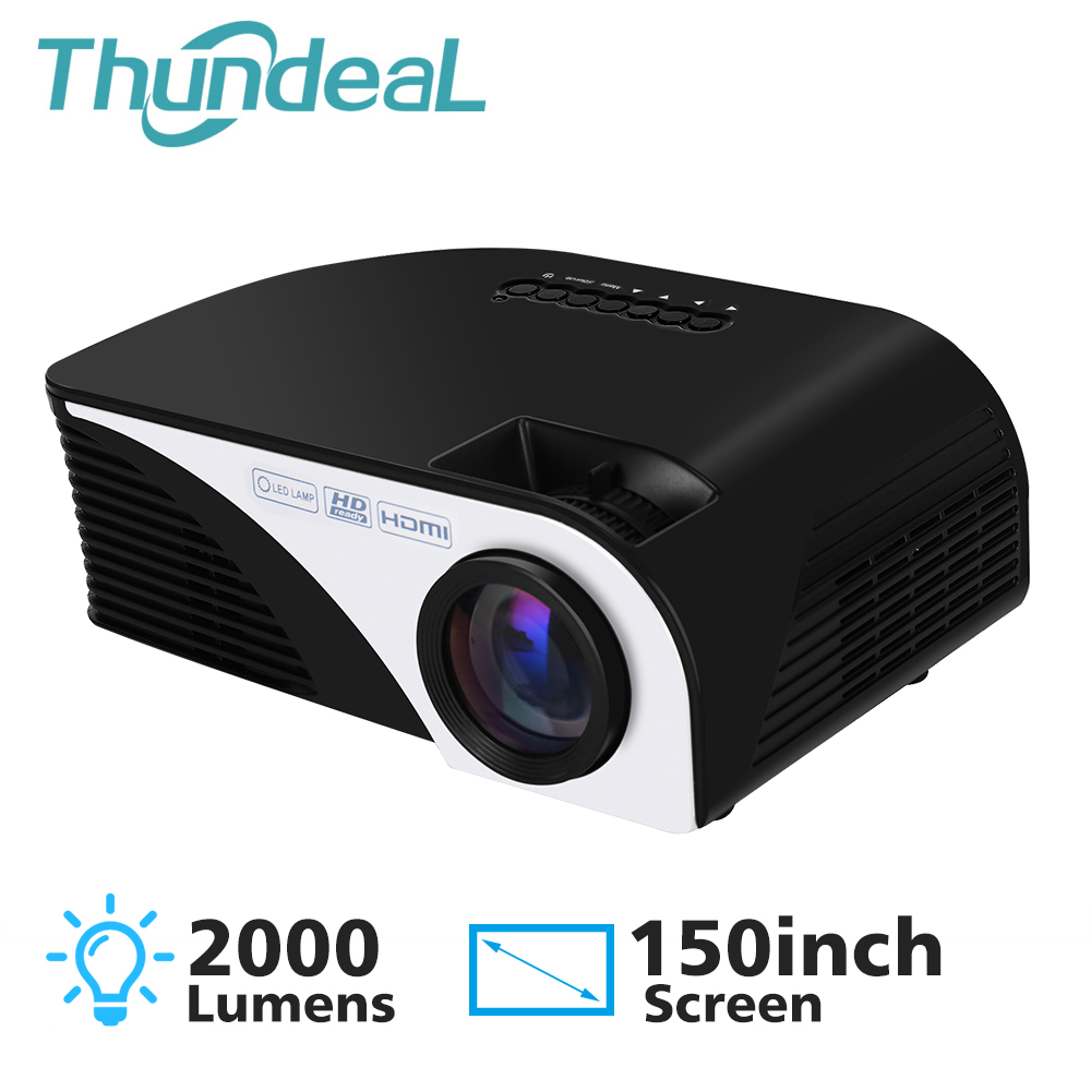 ThundeaL RD805 Mini Projector Support 1080P Home Theater Portable Video HDMI USB AV SD LCD LED