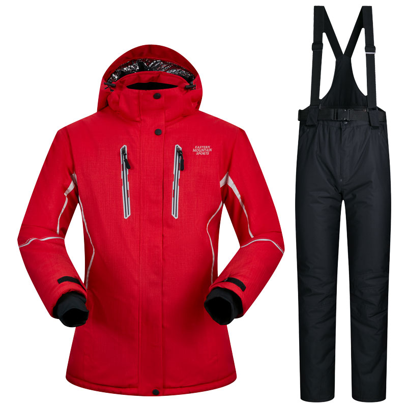 Winter Ski Suit Women High quality Windproof Waterproof Breathable Thermal Snow Jackets and Pants Skiing and