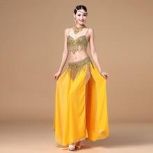 New 2016 Belly Dance Clothing 3pcs Outfit Women Dancing Costume Beads B C-cup Bra + Belt + Skirt Costumes 32-34B/C 36B/C 38B/C цена