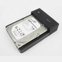 """External USB3.0 HDD Enclosure 2.5 / 3.5 """"Universal SATA Serial Port HDD Enclosure Hard Disk Base Hard Drive Duplicator"""