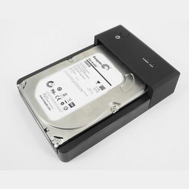 """External USB3.0 Hdd 2.5/3.5 """"Universal Base de Puerto Serie SATA Hdd Disco Duro Disco duro de la Duplicadora"""