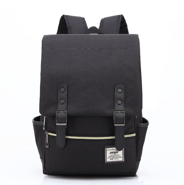 54f70fa60163 Fashion School Backpack Women Children Schoolbag Back Pack Leisure Korean  Ladies Knapsack Laptop Travel Bags for Teenage Girls-in Backpacks from  Luggage ...