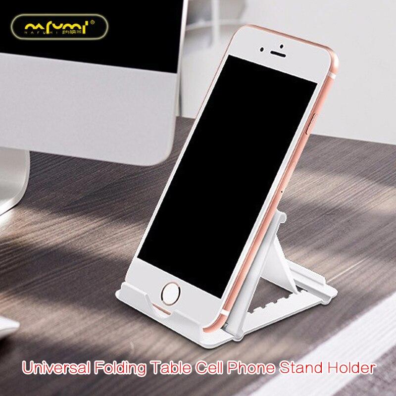 Universal Folding Table Cell Phone Support Plastic Holder Desktop Stand Phone Holder Smartphone & Tablet Ring Holder For Phone