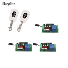 Sleeplion 3way on/off 220 В лампа Дистанционное управление коммутатора приемник передатчик 315 мГц 433 мГц