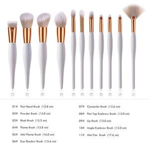Image 2 - Professional แต่งหน้าแปรงคุณภาพสูง Eyebrow Powder Foundation แปรงแต่งหน้าเครื่องสำอางค์แปรงดินสอ