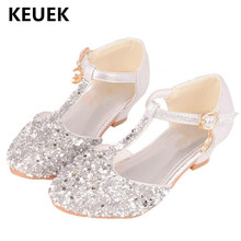 New Princess Shoes Baby Performance Dance Shoes Student Part