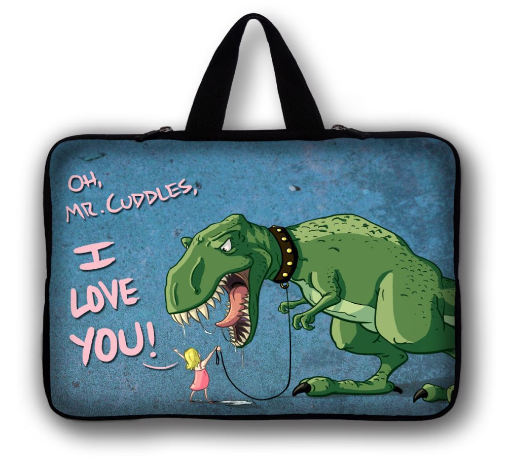 Dragon 10 Laptop Carry Bag Sleeve Case For 10.1 Samsung Galaxy Tab/Apple iPad 4 3 2 1 image