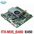 ITX-M35_E450 mini itx motherboard Ultra fino all in one motherboard com HDMI/VGA/LVDS