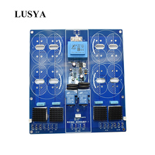 цена на Lusya Class A High Power Soft Starting Rectifier filter integrated board 2 channels Without capacitor T0126