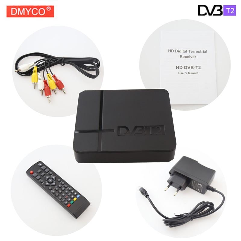 Hot sale Mini K2 DVB T2 Decoder terrestrial digital Satellite TV signal receiver HD 1080P MPEG4 H.264 PVR TV Receivers Top Box gefen gtv hd pvr