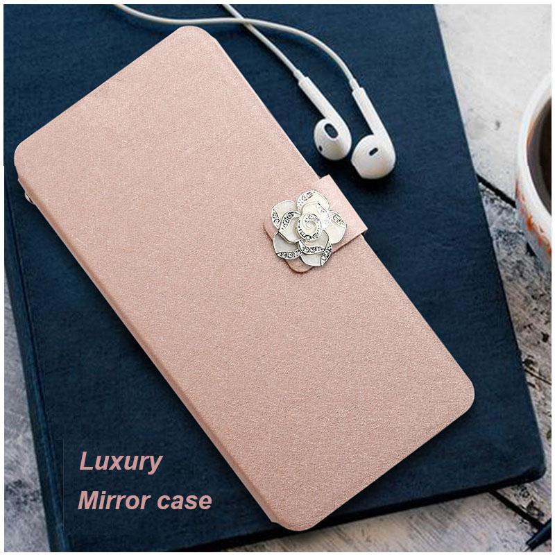 Luxury Mirror Case For Alcatel Pixi 4 (5) 5045X 5045D 5.0 Inch Back Cover For Alcatel One Touch Pixi 4 5.0 OT-5045X 5045D Cover