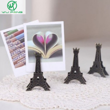 Effiel Tower Paris Metal Memo Paper Clips for Message Photo Office Supplies Accessories
