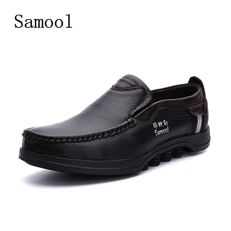 2017 Autumn Luxury Driving Breathable Genuine Leather Flats Loafers Men Shoes Casual Fashion Slip On Men Shoes Big Size 37-48 spring high quality genuine leather dress shoes fashion men loafers slip on breathable driving shoes casual moccasins boat shoes