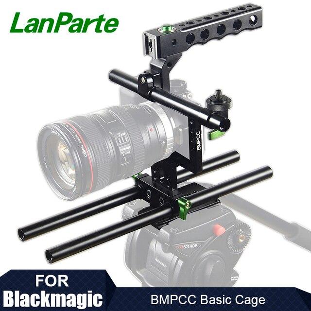 Lanparte BMPCC Camera Cage for Blackmagic Pocket Cinema Camera