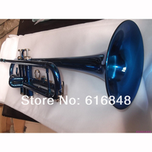 Wholesale students YTR 1335 Bb trumpet surface blue