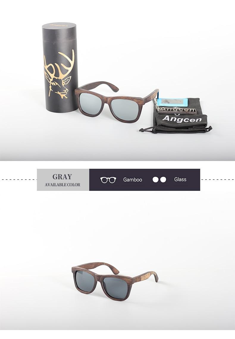 Angcen Unisex Polarized Sunglasses for Men Women 17