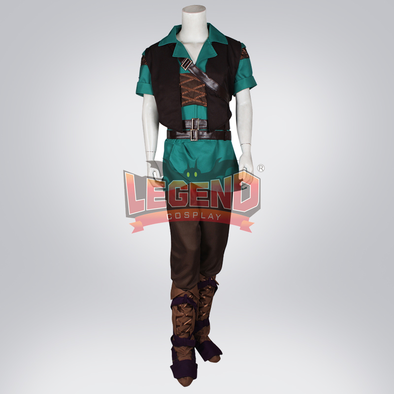 Cosplay legend The Legend of <font><b>Zelda</b></font>: Ocarina of Time: <font><b>Master</b></font> <font><b>Quest</b></font> Link Cosplay adult costume Custom Made full set image