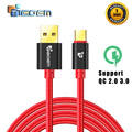 TIEGEM 1m 2m 3m USB 3.1 Type C cable USB C Charger Cable for Huawei p9 OnePlus 2 ZUK Z1 Z2 NEXUS 5X 6P USB-C Fast Charging Cable
