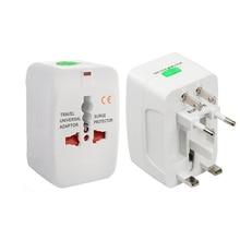 Фотография Electric Plug power Socket Adapter International travel adapter Universal Travel Socket USB Power Charger Converter EU UK US AU