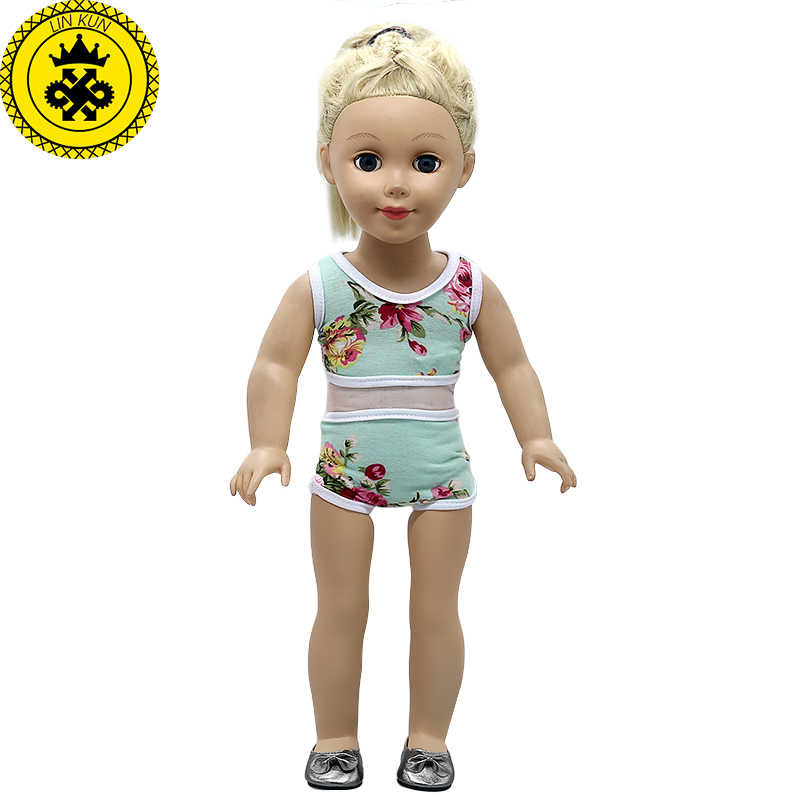 18 pulgadas muñeca ropa de verano estilo de traje de baño traje de 18  pulgadas 18 621a970bef7