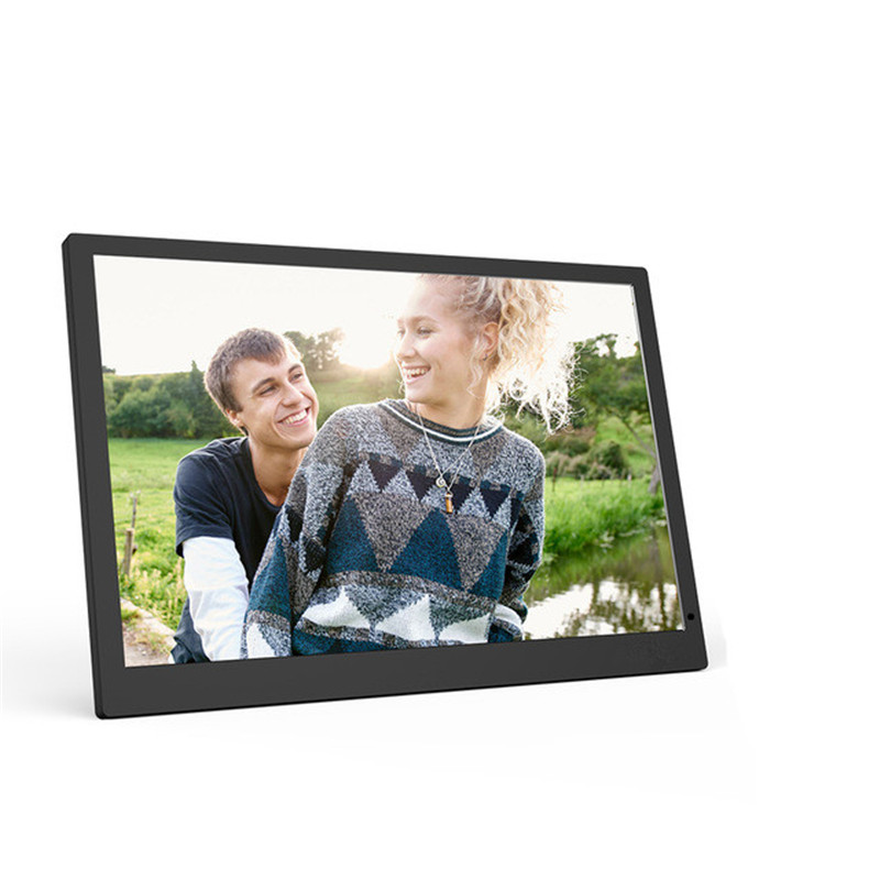 24 inche Digital Photo Frame Electronic Picture Album 1920*1080 Scroll Caption Support Advertising Machine with Clock Calendar 2015 new 7 inch digital photo frame ultra thin hd photo album lcd advertising machine