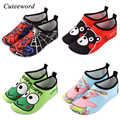Children's beach shoes baby soft floor indoor shoes surf snorkeling swim socks boys and girls anti-slip home barefoot kids shoes