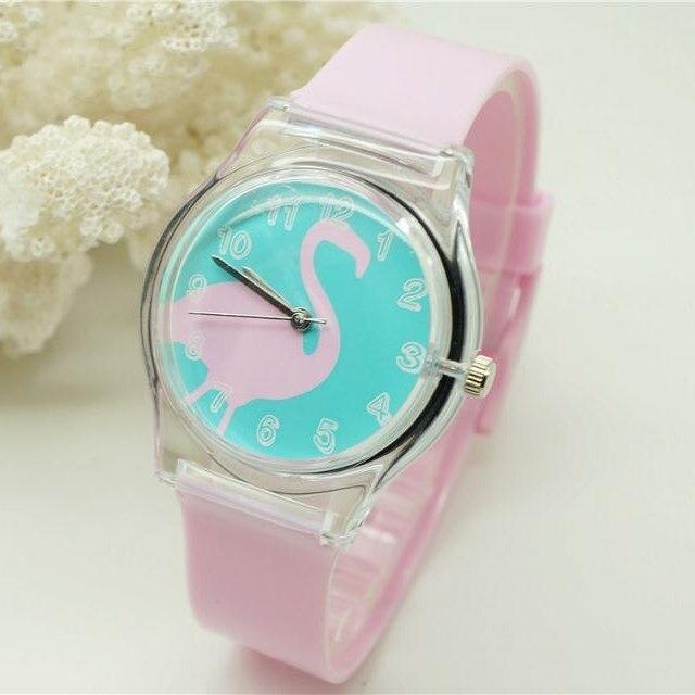 Reloj de pulsera analógico Willis para el modelo de cisne a la moda - Relojes para niños - foto 2