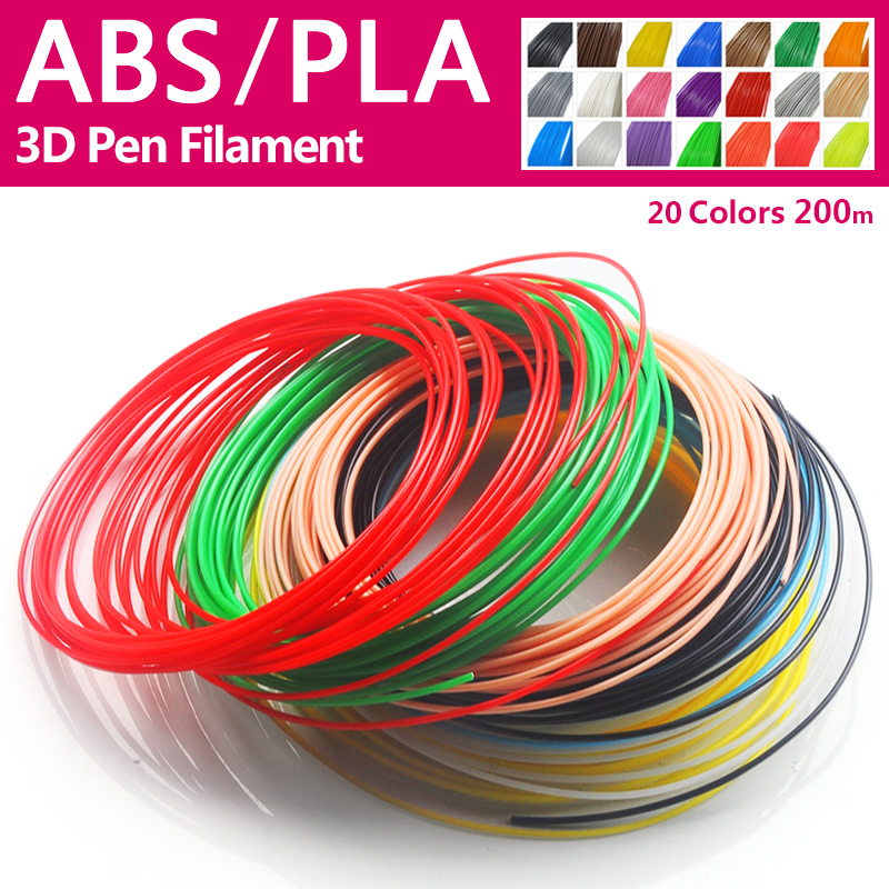 Quality product pla/abs 1.75mm 20 colors 3d printer filament pla 1.75mm 3d pen plastic 3d printer abs filament 3d filament abs high quality pinrui 3d hips filament 1 75mm 1kg 3d printer filament 1 kg hips 3d plastic filament low cost less odor than abs