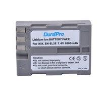 DuraPro High Quality EN EL3e EL3e 7 4V 1800mAh Camera Batteries For Nikon ENEL3E EN EL3E
