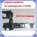 Mainboard versión europea para samsung note 4 n910f original placa lógica motherboard placa del sistema android buen trabajo