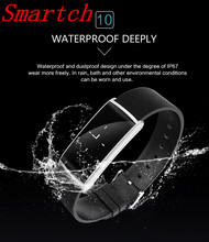Smartch Новый N108 Smart Band 0.96 дюймов сердечного ритма Мониторы Приборы для измерения артериального давления часы-браслет с Фитнес трекер умный Браслет PK s