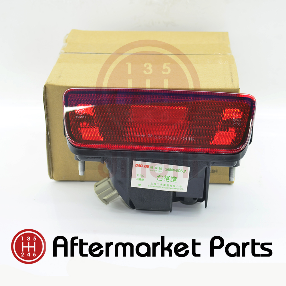 OEM Rear Tail Bumpe Fog Light Lamps for Nissan juke rogue X-trail T32 2014 2015 2016 2017 2018