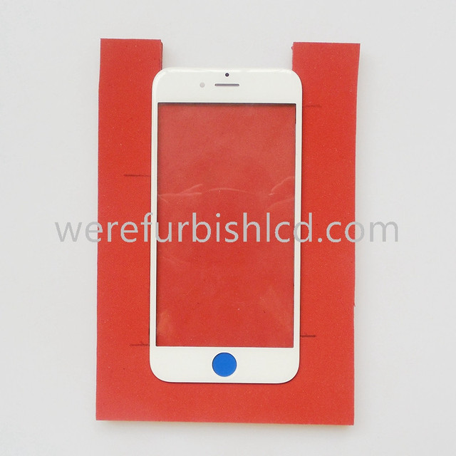 For iphone 6/6S glass with frame OCA Laminating machine silica gel pad level of soft silicone pad foam adhesive gasket mat