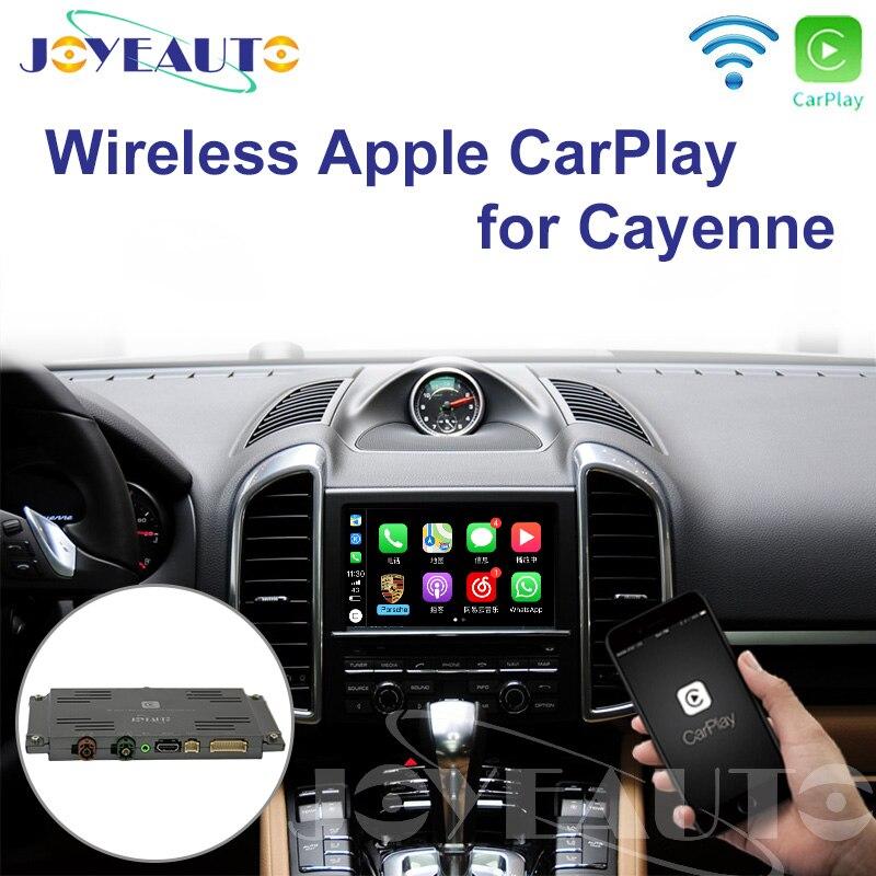 Voiture sans fil Joyeauto Wifi pour Porsche PCM3.1/PCM4.0 Android Auto/miroir iOS miroir 2010-2016 Cayenne/Bosxter/911/Macan
