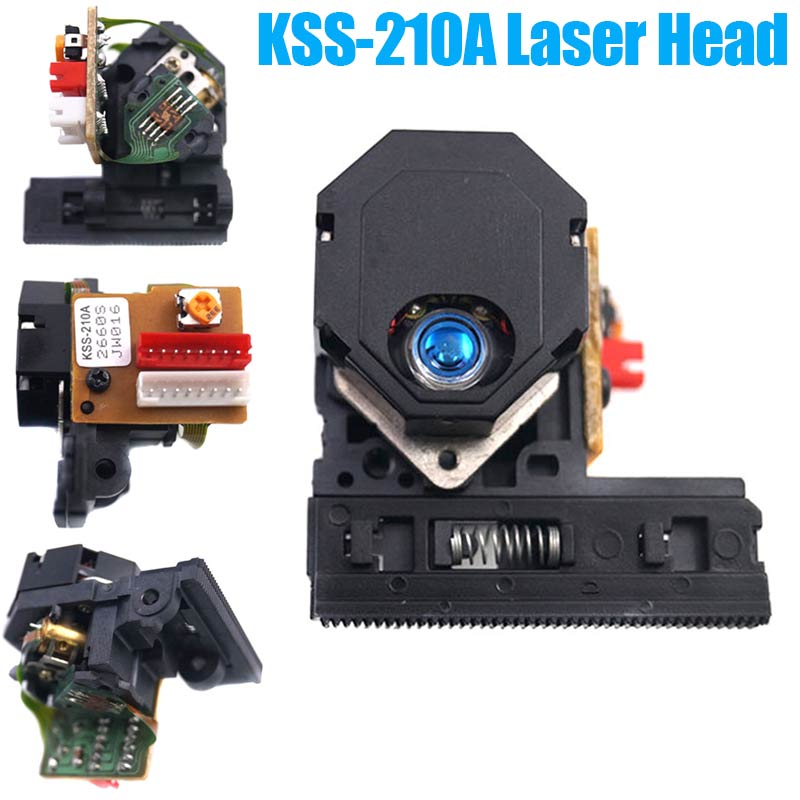 New Optical Pick-Up Head Lens KSS-210A For DVD CD --M25 2pcs lot kss 213c kss 213b kss 213cl kss 213 radio cd player laser lens optical pick ups bloc optique
